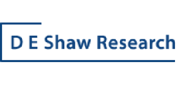 Logo for D. E. Shaw Research